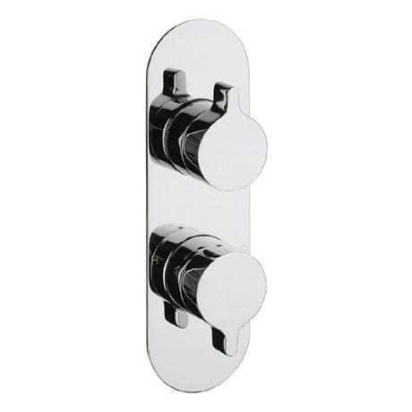 Crosswater - Svelte Thermostatic Shower Valve with 3 Way Diverter - SE2500RC