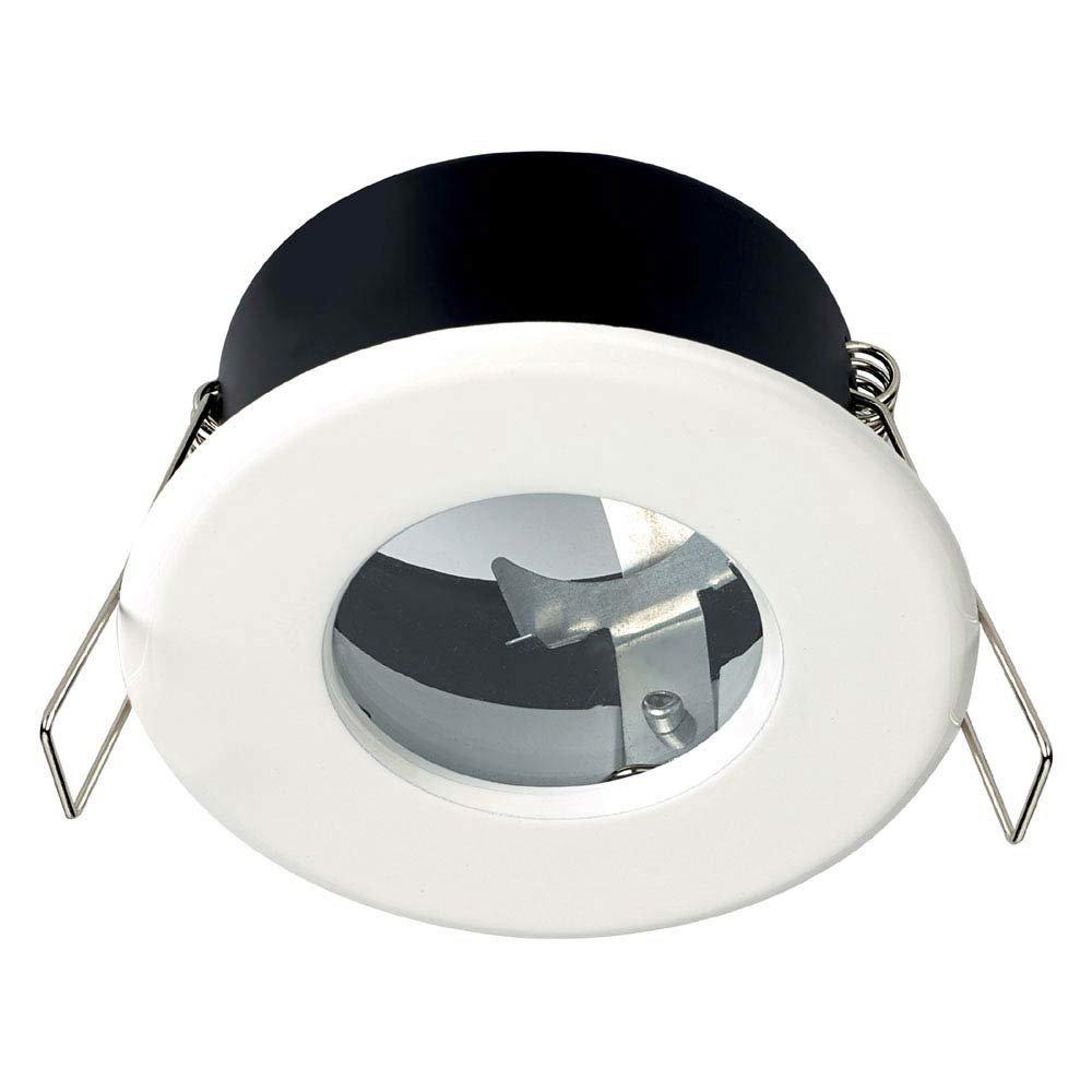 Hudson Reed White Shower Light Fitting - SE30014W0 Large Image