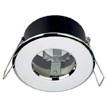 Hudson Reed Chrome Shower Light Fitting - SE30022W0 Medium Image