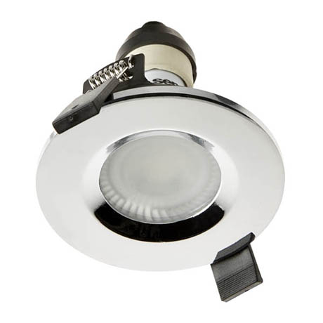 Hudson Reed Chrome Shower Light Fitting - SE30022W0