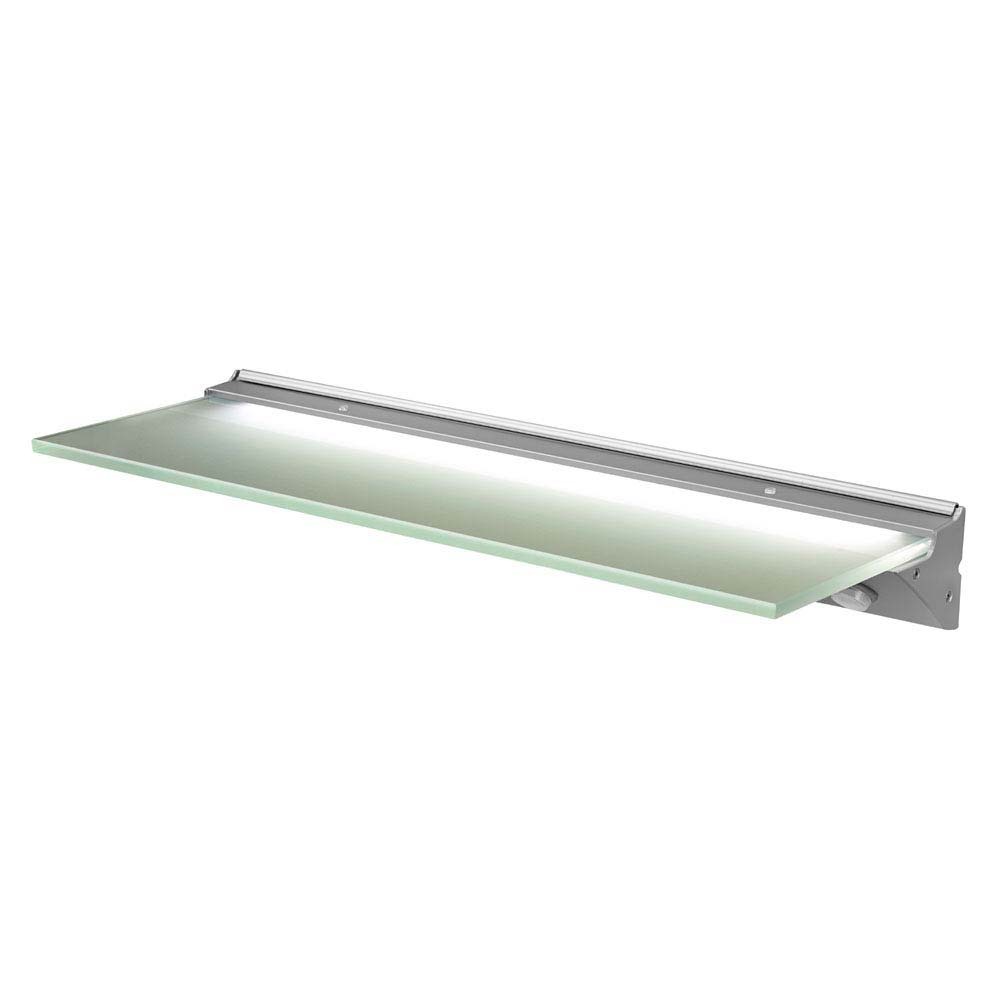Hudson Reed Glass Shelf with LED Light (500 x 170mm) - SE30196W0 profile large image view 1