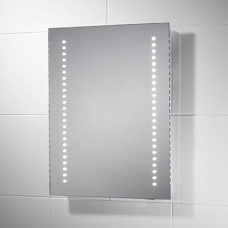 Sensio Isla 390 x 500mm Battery Powered LED Mirror - SE30466C0