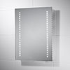 Sensio Isla 390 x 500mm Battery Powered LED Mirror - SE30466C0 profile small image view 1