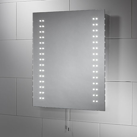 Sensio Tula 500 x 600mm Slimline LED Mirror - SE30486C0