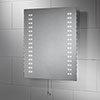 Sensio Tula 500 x 600mm Slimline LED Mirror - SE30486C0 profile small image view 1