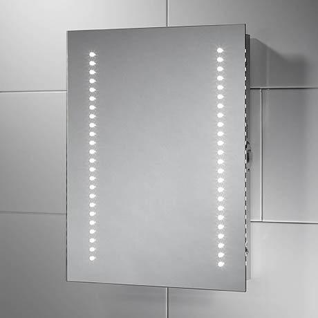 Sensio Sienna 390 x 500mm LED Mirror with Demister Pad & Shaving Socket - SE30556C0