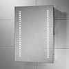 Sensio Sienna 390 x 500mm LED Mirror with Demister Pad & Shaving Socket - SE30556C0 profile small image view 1