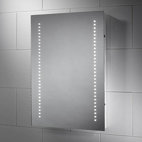 Sensio Kai LED Mirror with Demister Pad & Shaving Socket - SE30696C0.1
