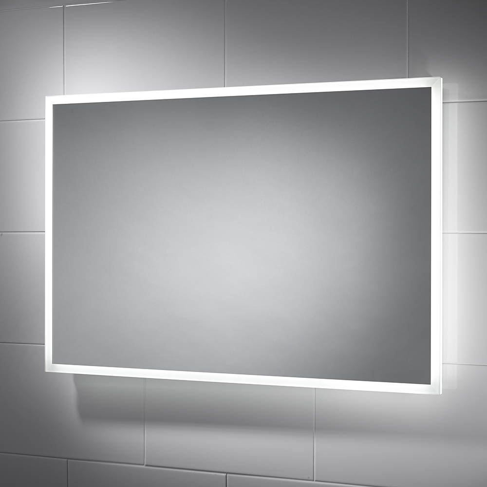 Sensio Glimmer 900 x 600mm Dimmable LED Mirror with Demister Pad - SE30736C0