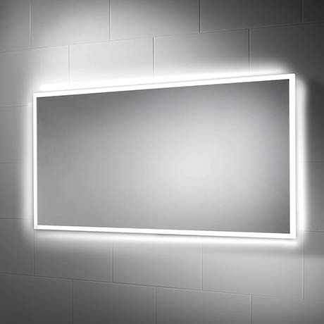 Sensio Glimmer 1200 x 600mm Dimmable LED Mirror with Demister Pad - SE30746C0