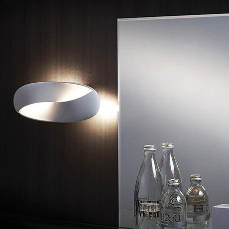 Sensio Infinity White IP44 LED Wall Light - SE32009W0