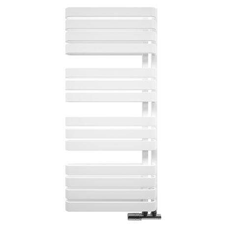 Bauhaus Svelte Towel Rail - 500 x 1100mm - Soft White Matte