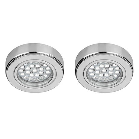 Sensio Orca HD LED IP44 Recessed or Surface Light (2 Pack)