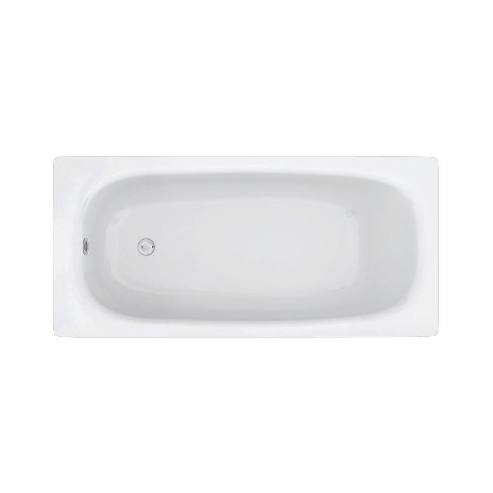Aurora 1500 x 700mm 0TH Steel Enamel Bath