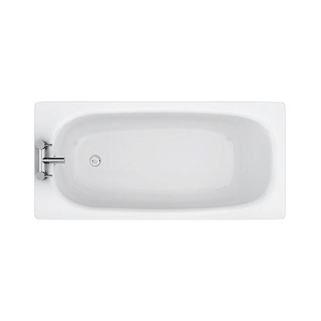 Aurora 1500 x 700mm 2TH Steel Enamel Bath