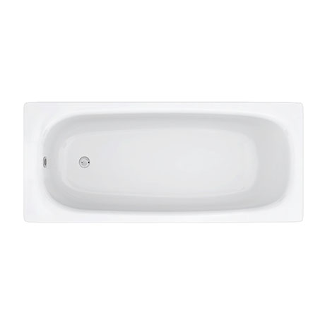 Aurora 1600 x 700mm 0TH Steel Enamel Bath