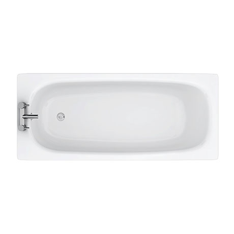Aurora 1600 x 700mm 2TH Steel Enamel Bath