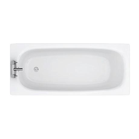 Aurora 1600 x 700mm 2TH Steel Enamel Bath
