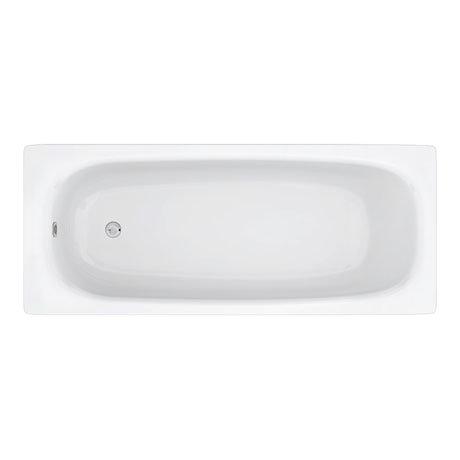 Aurora 1700 x 700mm 0TH Steel Enamel Bath