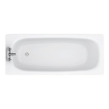 Aurora 1700 x 700mm 2TH Steel Enamel Bath