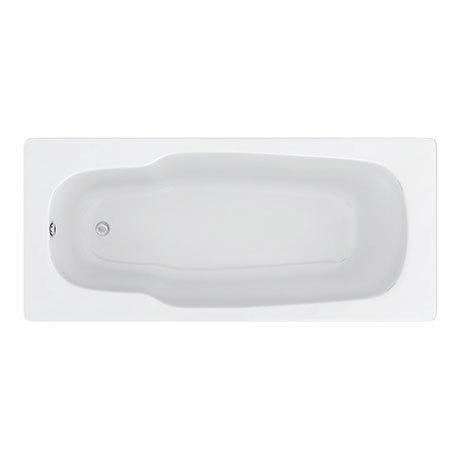 Aurora 1800 x 800mm 0TH Steel Enamel Bath