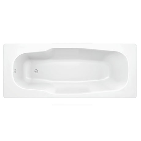 Aurora 1800 x 800mm 0TH Steel Enamel Bath