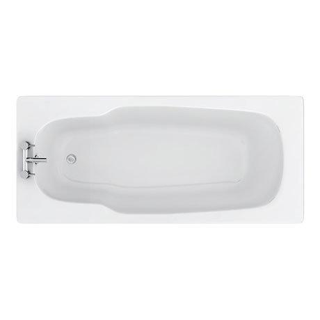 Aurora 1800 x 800mm 2TH Steel Enamel Bath