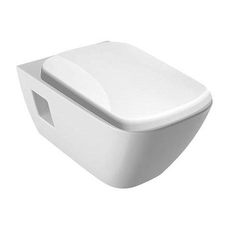 Geberit Selnova Square Rimless Wall Hung Pan + Soft Close Seat
