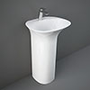 RAK Sensation 55cm 1TH Free Standing Basin profile small image view 1