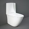 RAK Sensation Rimless BTW Close Coupled Toilet + Soft-Close Seat profile small image view 1