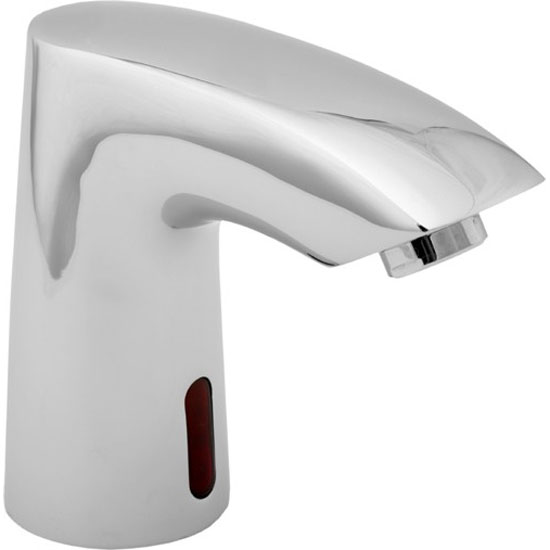 Deva - Angled Chrome Basin Sensor Tap - SENSOR1/D profile large image view 1