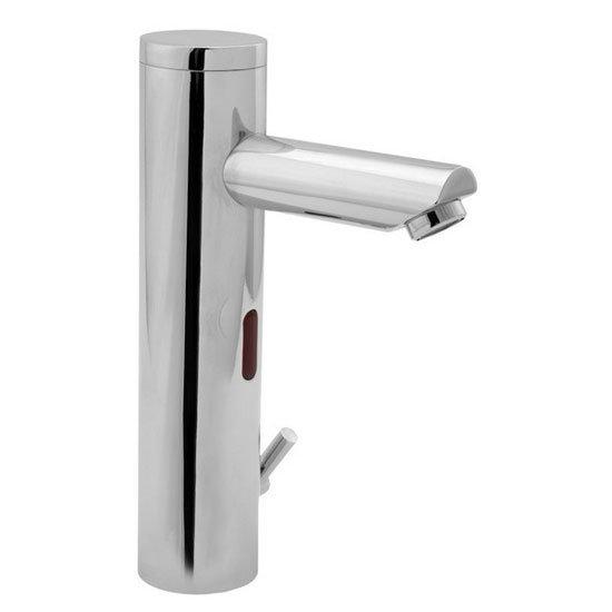 Deva - Chrome Mono Basin Sensor Tap - Adjustable Temperature - SENSOR6/BT Large Image