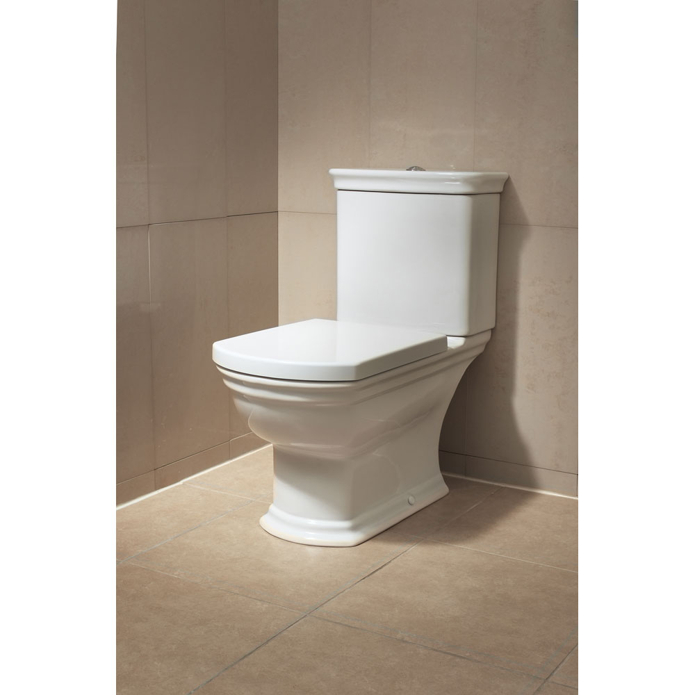 Vitra - Serenada Close Coupled Toilet (Open Back) profile large image view 3
