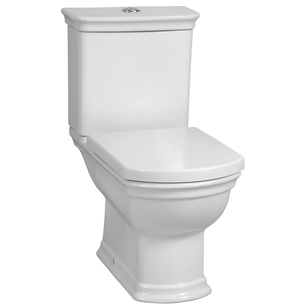 Vitra - Serenada Close Coupled Toilet (Open Back) profile large image view 1