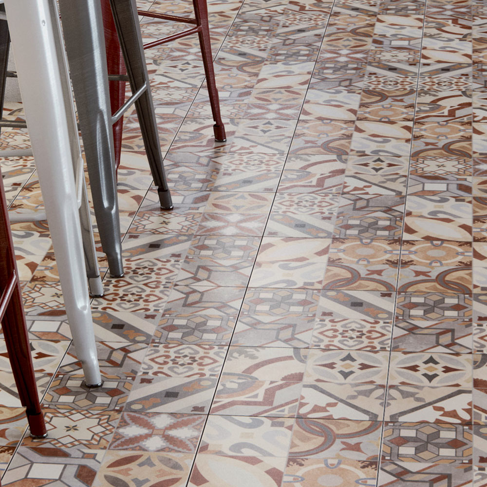 Seville Patterned Tiles | Why Do Patterned Tiles Work So Well In The Bathroom?