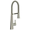 Bristan Saffron Professional Kitchen Sink Mixer with Pull Out Spray - Brushed Nickel - SFF-PROSNK-BN profile small image view 1