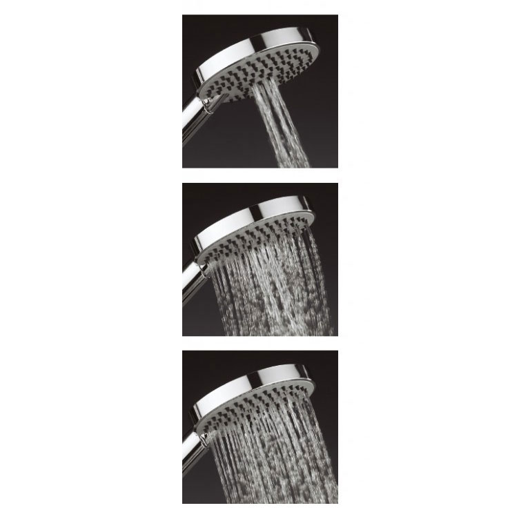 Crosswater - Ethos Shower Handset with Three Spray Patterns (120mm) - SH635C Profile Large Image