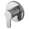 Asquiths Sanctity Manual Concealed Shower Valve - SHA5111 profile small image view 1