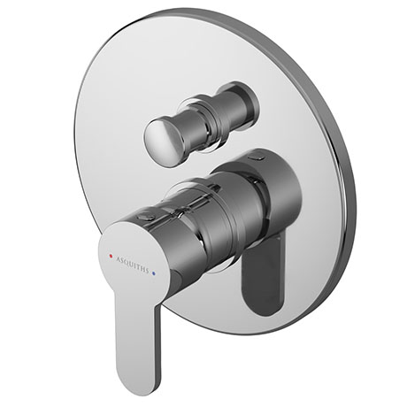 Asquiths Sanctity Manual Concealed Shower Valve With Diverter - SHA5112