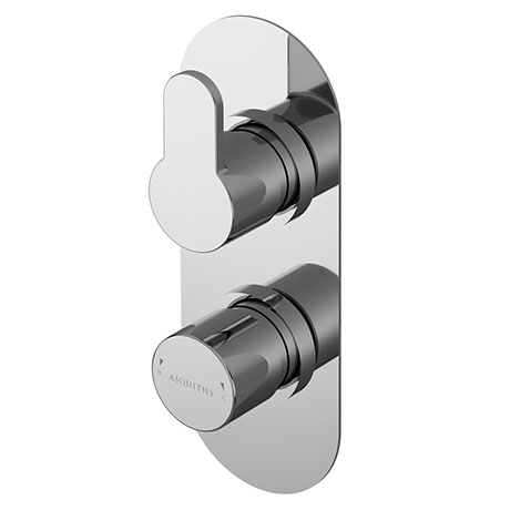 Asquiths Sanctity Twin Concealed Shower Valve - SHA5114