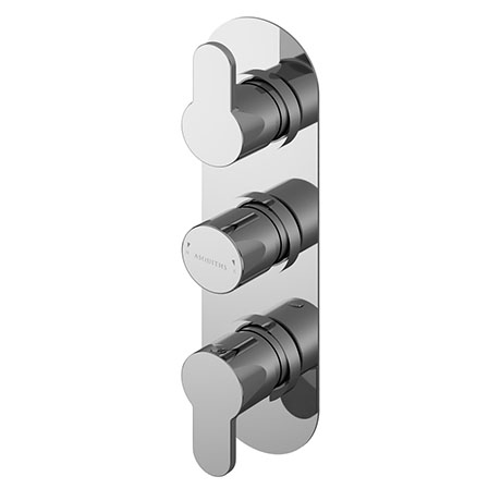 Asquiths Sanctity Triple Concealed Shower Valve - SHA5116