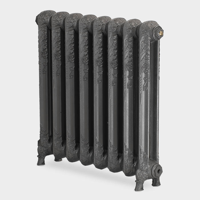 Paladin Shaftsbury 740mm High 6 Section Electric Cast Iron Radiator with 1500w Heating Element