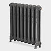 Paladin Shaftsbury 740mm High 5 Section Electric Cast Iron Radiator with 900w Heating Element profile small image view 1