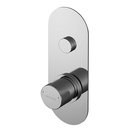 Asquiths Solitude Push Button Shower Valve (Single Outlet) - SHB5101