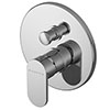Asquiths Solitude Manual Concealed Shower Valve With Diverter - SHB5112 profile small image view 1