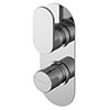 Asquiths Solitude Twin Concealed Shower Valve - SHB5114 profile small image view 1