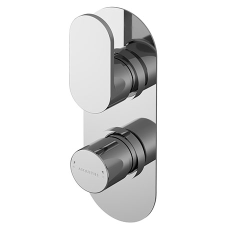 Asquiths Solitude Twin Concealed Shower Valve With Diverter - SHB5115