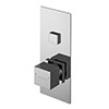Asquiths Revival Push Button Shower Valve (Single Outlet) - SHC5101 profile small image view 1
