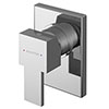 Asquiths Revival Manual Concealed Shower Valve - SHC5111 profile small image view 1