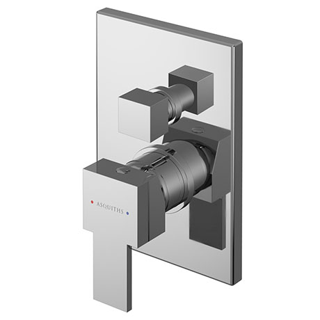 Asquiths Revival Manual Concealed Shower Valve With Diverter - SHC5112